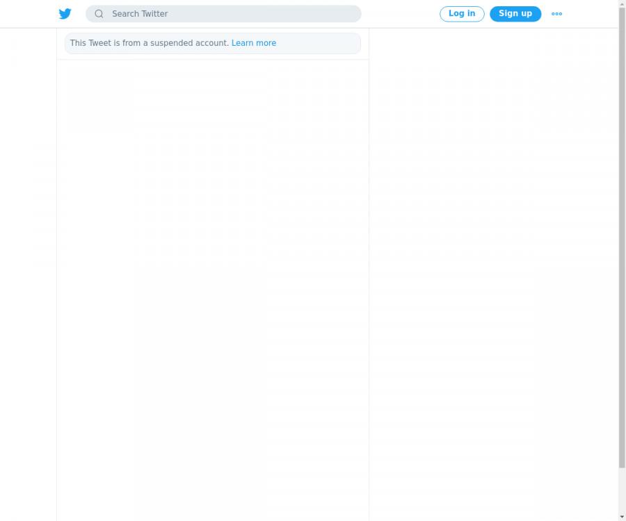 لقطة لاول تغريدة في هاشتاق #مشهور_ودك_يختفي